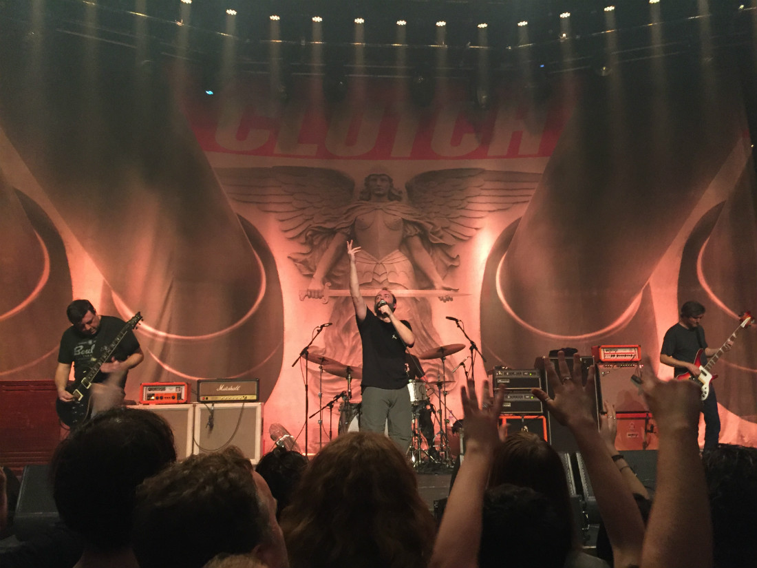 Clutch Band Live in London