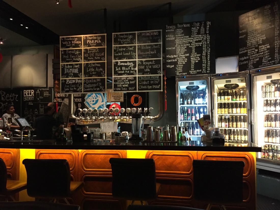 TAPS Beer Bar Kuala Lumpur, Malaysia