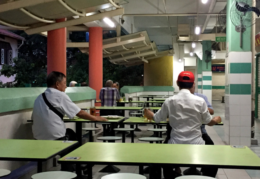 Chinatown Hawker Centre Singapore